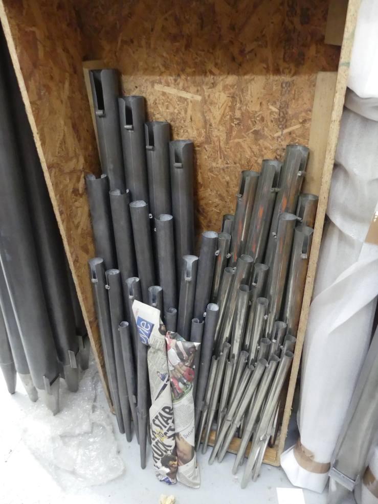Principal _ Octav pipes restored